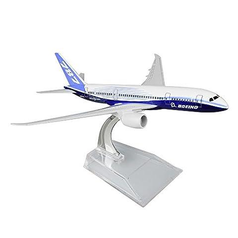 Boeing 787 Dreamliner 16cm Metal Airplane Models Child Birthday Gift Plane Models Home Decoration by - Model Plane