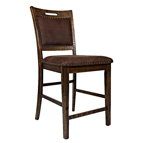 (Jofran: 1511-BS380KD, Cannon Valley, Counter Height Stool, 20