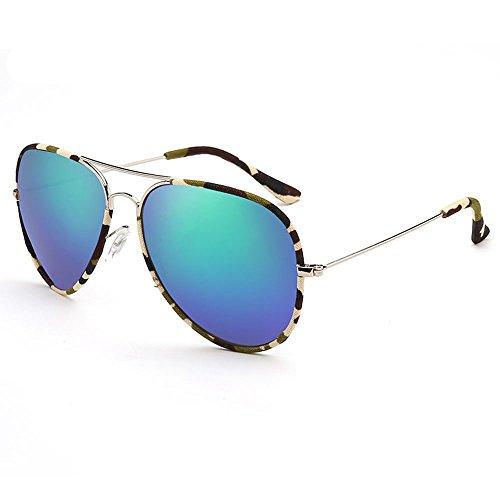 SSSX polarizadas UV400 sol grande de sol con Gafas Gafas de sol con Color protección para Gafas visera C Gafas para conducir Gafas sol sol de montura A de de con mujer pOp0qrx