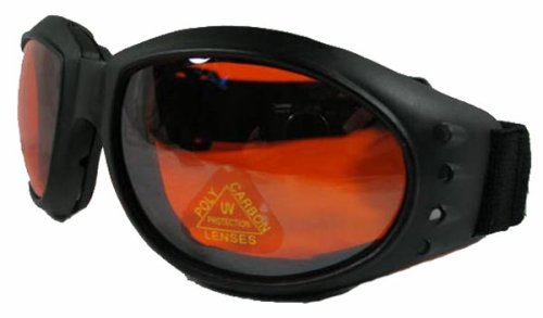 Burning Man GOGGLES jeep motorcycle atv bike motocross sport VESPA (red lens)