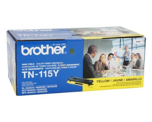 BRTTN115Y - TN115Y High Yield Yellow Toner Cartridge