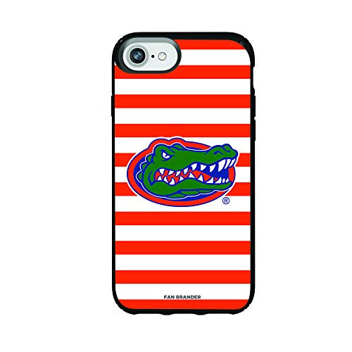 Fan Brander NCAA Phone case, Compatible with Apple iPhone 8 and Apple iPhone 7 and Apple iPhone 6 and with Speck Presidio Series with Stripes Design (Florida Gators)