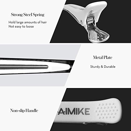 Hair Clips AIMIKE 12 Pack Hair Clips for Styling and Sectioning 12 Hair Clips