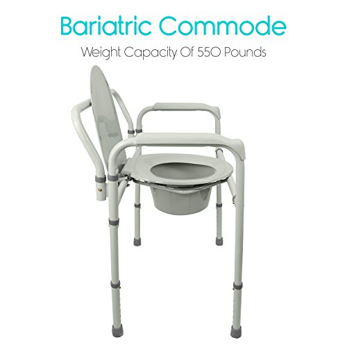 Bariatric-Bedside-Commode-by-Vive-3-in-1-Toilet-Chair-Extra-Wide-Pre-Assembled-Folding-Heavy-Duty-Bathroom-Seat-Bucket-Pail-Fits-Standard-Liners