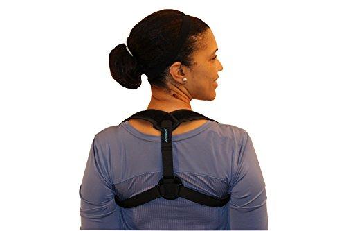 Posture Corrector - Posture Brace - Upper Back Posture Support - Clavicle Orthopedic Support Posture Corrector - Kyphosis Unnoticeable Posture Corrector - Shoulder Support Adjustable [eBook Included] by AireSupport (Image #1)