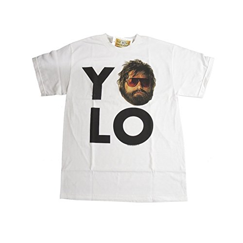 (The Hangover Movie YO LO Alan Men Adult T-shirt Officially Licensed)