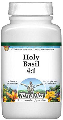 Holy Basil 4:1 Powder (1 oz, ZIN: 521750) - 2 Pack by TerraVita