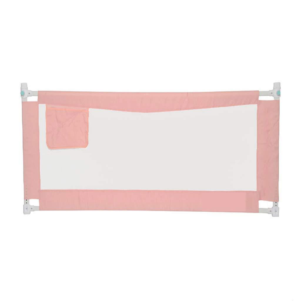 GY ベッドレール、 子供用ベッドガードレール、 安全フェンスベゼル、 反落下、 垂直リフティング、 調節可能な ユニバーサル1.5m / 1.8m / 2.0m、 3色 (色 : Pink, サイズ さいず : 180cm) 180cm Pink B07JVFJM2G
