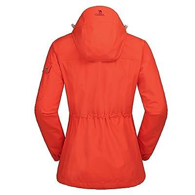 Camel Waterproof Ski Jacket 3-in-1 Women's/Men's Outdoor Mountain Windproof Fleece Warm Coat