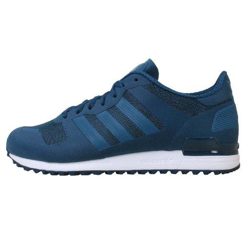 Adidas Men's ZX 700 M, BLUE/WHITE, 9.5 M US