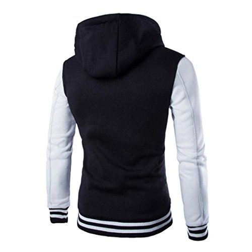Outwear Del gli Rivestimento Cappotto Caldo Slim Maglione Bianca Invernale Cappuccio Uomini Con Koly BYqn44