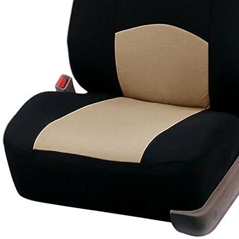 TOOGOO 9PCS Couvertures de siege dautomobiles Couverture de siege de voiture complete appropriation universelle Protecteur daccessoires interieurs style de voiture:rouge