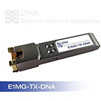 New Brocade Compatible E1MG-TX 1000Base-T SFP Copper, RJ-45 by Dynamic Network Accessories