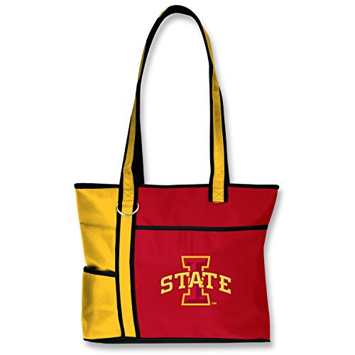 Iowa State Cyclones Lunch - Charm14 NCAA Iowa State Cyclones Tote Bag with Embroidered Logo