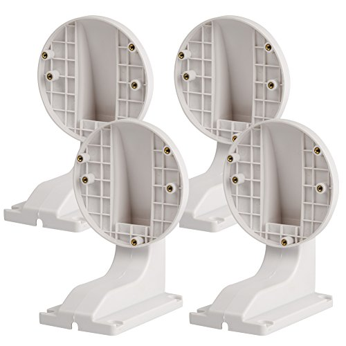 HIFROM(TM)(Pack of 4) Bracket Wall Mount DS-1258ZJ Fit For IP Dome Camera DS-2CD2132-I DS-2CD3132-I DS-2CD2135F-IS DS-2CD2132F-IWS