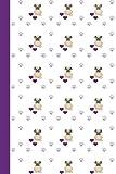 Sketch Journal: Dog Yoga (Pug Yoga/Purple) 6x9