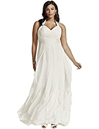 Amazon.com: Plus Size - Wedding Dresses / Wedding Party: Clothing ...