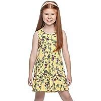 Vestido Infantil Menina Amarelo - Elian