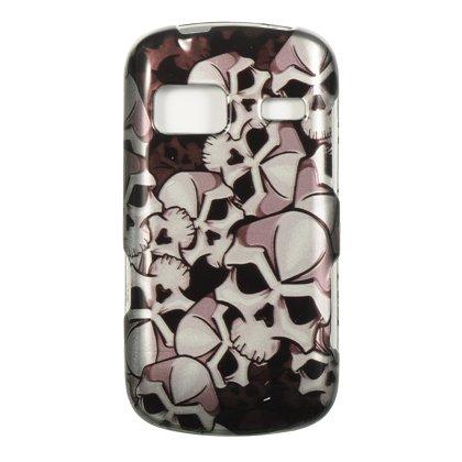 Black Skull Hard Protector Case Phone Cover for LG Rumor Reflex (Lg Rumor Reflex Cover compare prices)