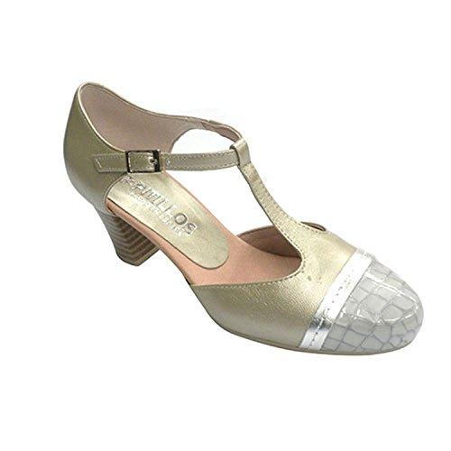cerrado los mujer serpiente abierto metalizado en Pitillos punta Zapato en lados qIS50Idx