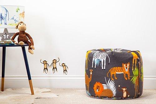Ready Steady Bed Africa Design Children's Bean Bag
