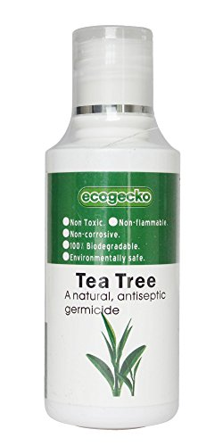 EcoGecko Therapeutic Fragrant Aroma Oil (100 ml) for Water Based Air Purifier Revitalizer Air Freshener, Tea Tree
