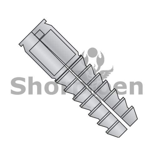Lag Screw Shields Zinc Die Cast 1/2 x 3 Long BC-50SLL (Box of 50) Weight 5.86 Lbs