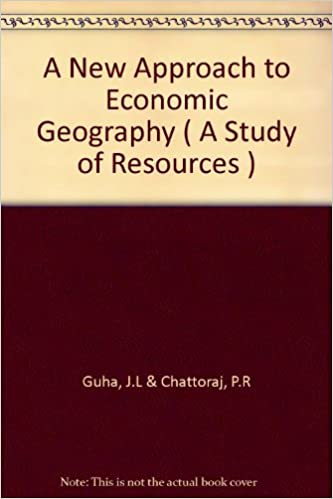 A New Approach to Economic Geography
