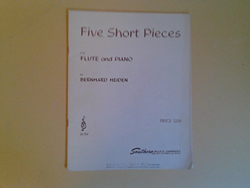 Five Short Pieces for Flute and Piano