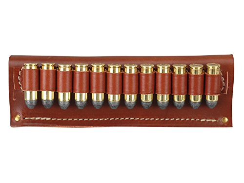 Hunter 0545 12 Loop Belt Slide - .45 Cal, Brown