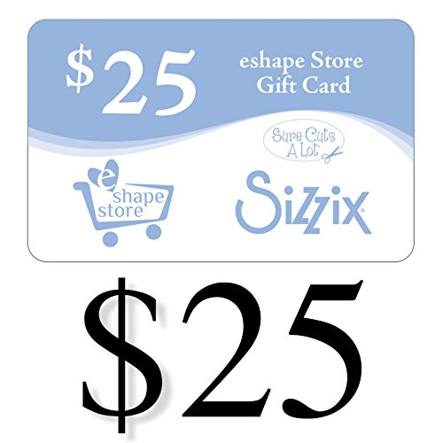Sizzix Gift Card (Online Gifts Ideas)