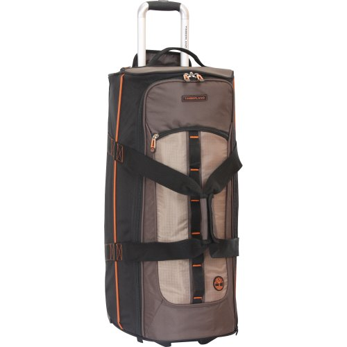 Timberland 28'' Wheeled Duffle Luggage Bag, Cocoa by Timberland