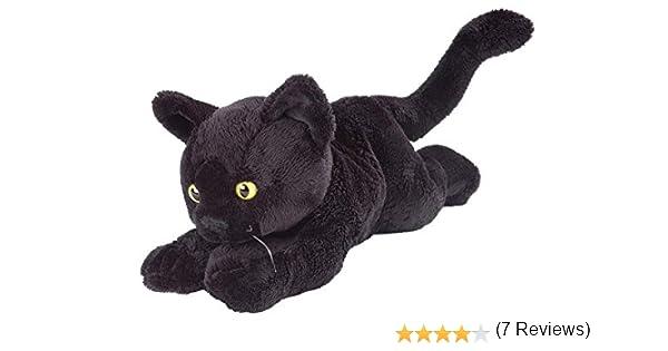 PC Hardware Store Wild Republic 80689 - P&C peluche gato, (18 cm), color negro: Amazon.es: Juguetes y juegos