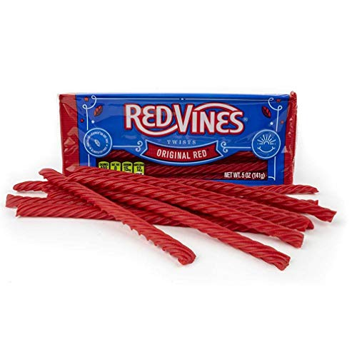 Halloween Night 1914 (Red Vines Licorice, Original Red Flavor, 5oz Trays (12 Pack), Soft & Chewy)