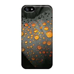 Series Skin Cases Covers For Iphone 5/5s(orange Drops)