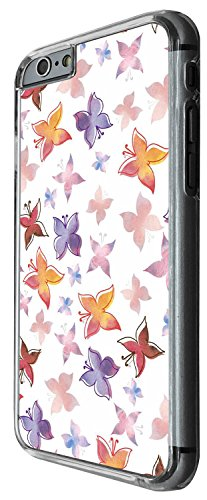 1350 - Cool Fun Trendy cute kwaii nature butterflies floral and forna Design iphone 4 4S Coque Fashion Trend Case Coque Protection Cover plastique et métal - Clear