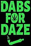 Best CBD Birthday Gifts For Aunts - Marijuana Dabs for Daze Composition Notebook Review