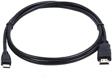 Hasmx - Cable mini HDMI a HDMI de Canon para conectar cámaras Canon a TV o ordenador, apto para todos los televisores y ordenadores que tienen una entrada HDMI estándar para la