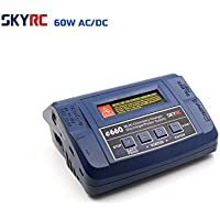 Genuine SKYRC E660 Multi Chemistry Charger Discharger/Power Supply 60W Power LiPo,LiHV,LiIon,LiFe,NiCd,NiMH,Pb Battery