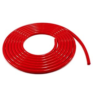 Generic Racing Silicone Vacuum Hose Tube Pipe Turbo For Honda Civic CRX Integra CRZ, Red
