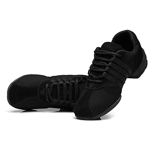 Jazz Noir Sneaker Aptitude Femme Chaussures HROYL Chaussures Modernes K Sport Danse T01 Modèle Danse de RqtYw6