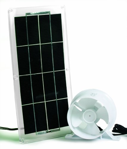 Camco 42162 Solar Panel and Fan for Refrigerator Vent