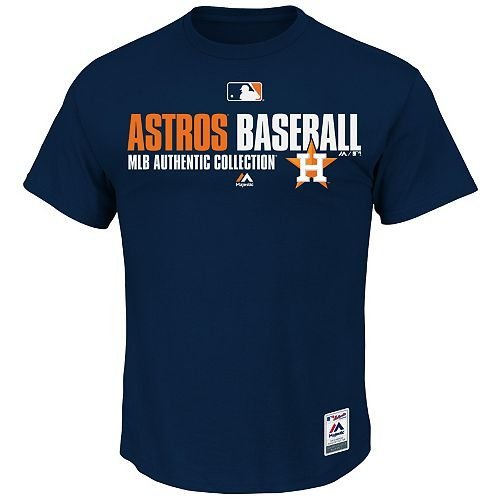 NEW MLB Authentic Collection Major League Baseball Licensed Team Favorite Tee (All 30 Teams, 5 Adult Sizes) by Majestic