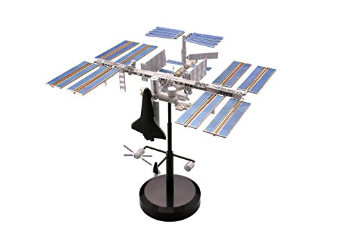 International Space Station (Painted Plastic Model)