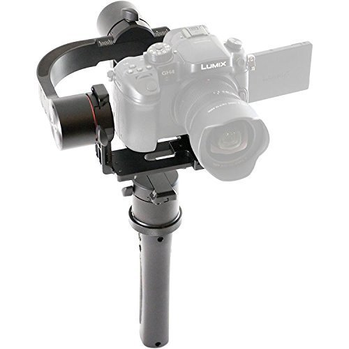Pilotfly h2 3軸ハンドヘルドジンバルfor Sony a7カメラwith 32bit AlexMos with triple-mcuテクノロジー – ブラック(認定Refurbished )   B01N48HSQF