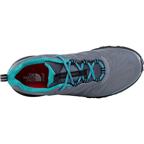 Ultra Zapatillas de Zinc Grey para W Fp GTX THE Porcelain Gris Mujer Green NORTH FACE III 4hu Deporte RqgfCt