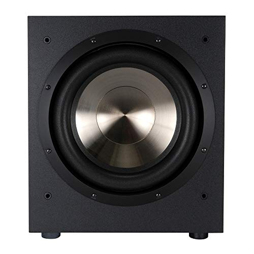 - BIC America F12 12-Inch 475-Watt Front Firing Powered Subwoofer