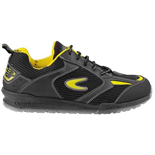 """Cofra 78480–000.w41Talla 41O1SRC FO de """"Bartali Zapatos de seguridad, color negro y amarillo"""