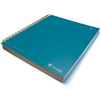Livescribe 8.5 x 11 3-Subject Notebook #1 (Dark Blue)