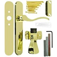 Wright Products Storm Door Latch, Polished Brass, 1